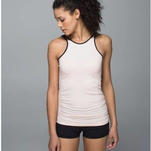 Lululemon In The Flow High Neck Tank Size 6